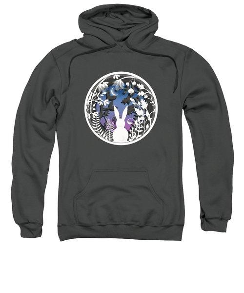 Moonlight Bunny Star Gazer Sweatshirt