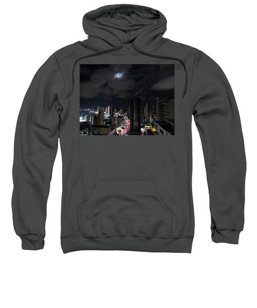 Moonlight Sweatshirt by Cesar Vieira