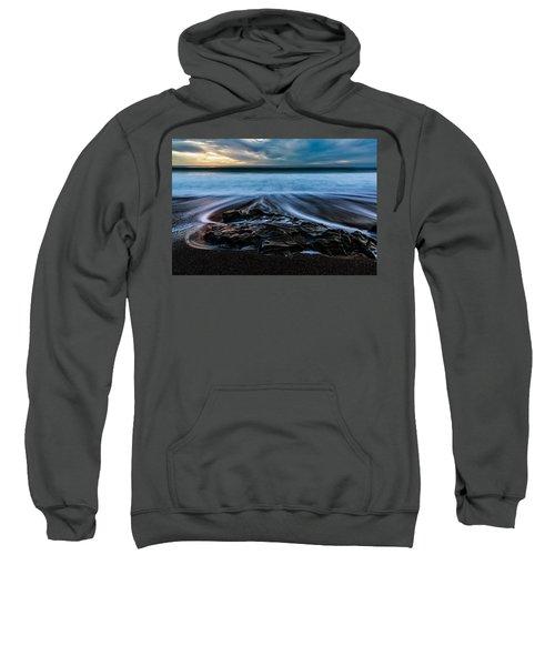 Moonstone Beach In The New Year Sweatshirt
