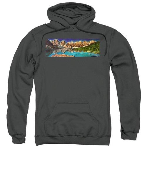 Moraine Lake Aura Sweatshirt