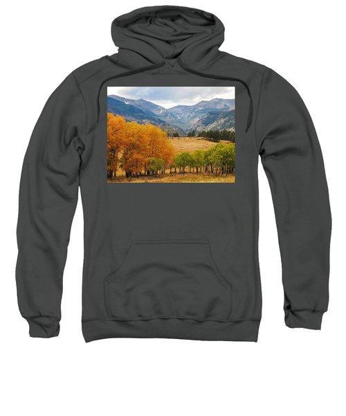 Moraine Park In Rocky Mountain National Park Sweatshirt
