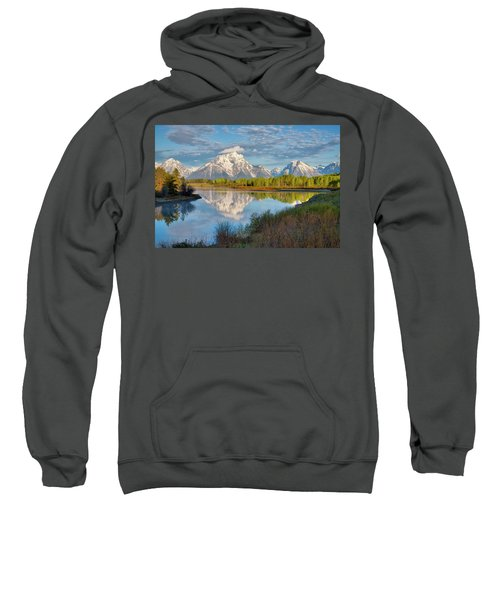 Morning At Oxbow Bend Sweatshirt