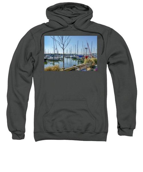 Morning At The Marina Sweatshirt
