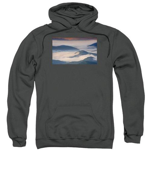 Morning Cloud Colors Sweatshirt