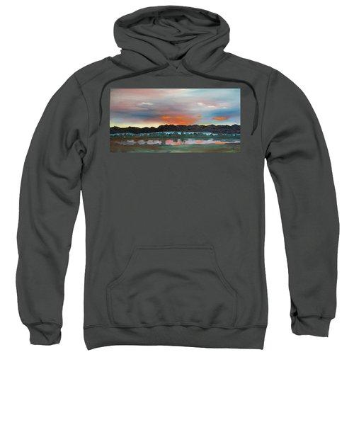 Morning Fog Silver Star  Sweatshirt