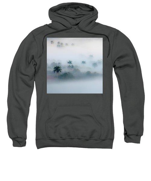 Morning Fog, Vinales Valley Sweatshirt