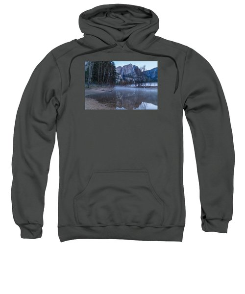 Morning Fog Yosemite Falls Sweatshirt