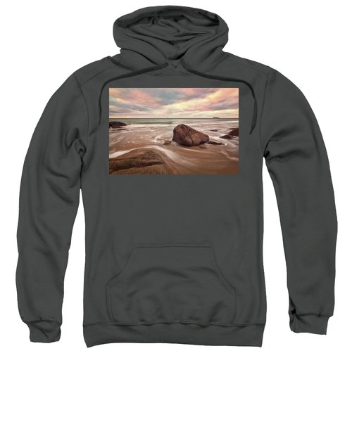 Morning Glow Singing Beach Ma Sweatshirt