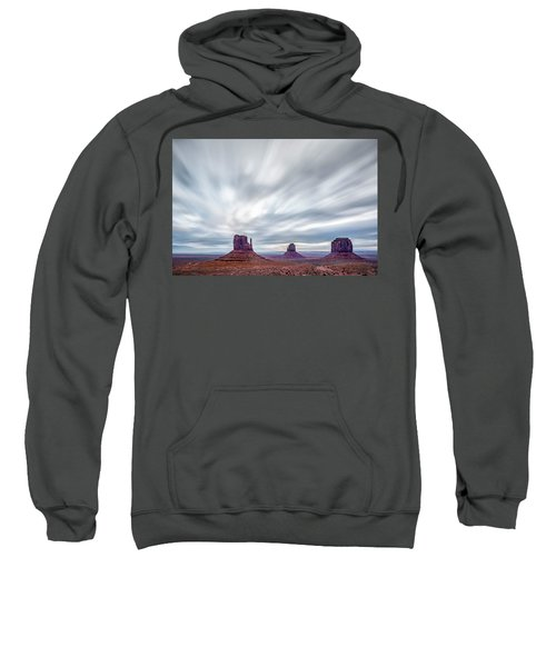 Morning In Monument Valley Sweatshirt