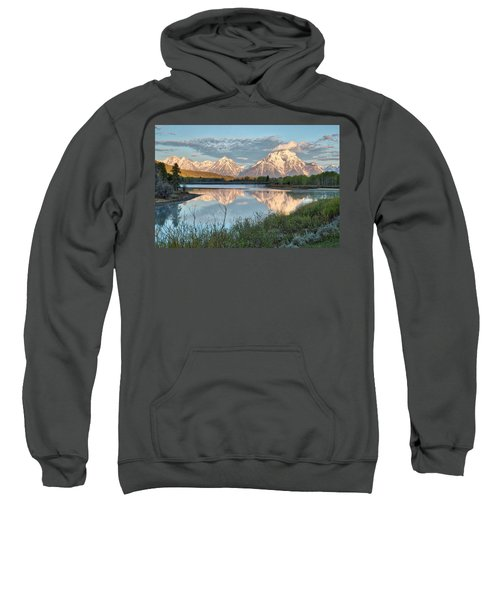Morning Light At Oxbow Bend Sweatshirt