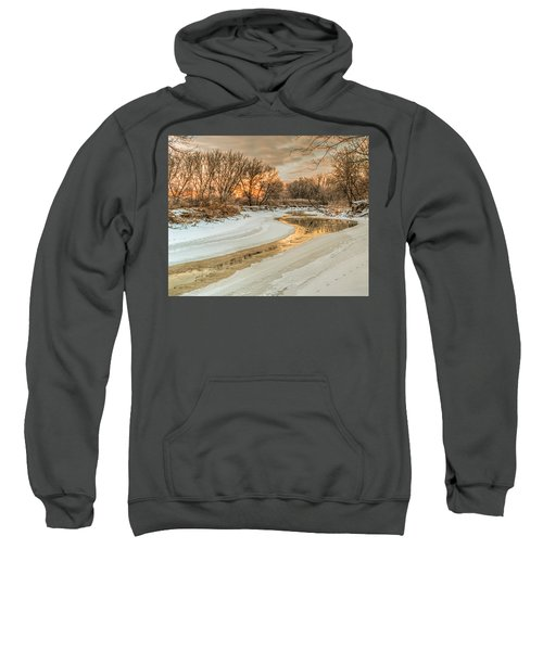 Morning Light On The Riverbank Sweatshirt