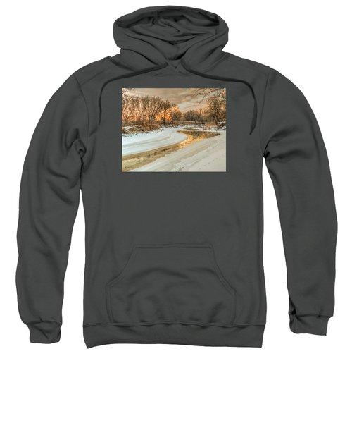 Morning Light On The Riverbank Sweatshirt