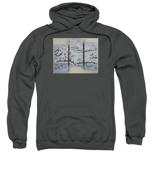 Morning Mist Triptych Sweatshirt