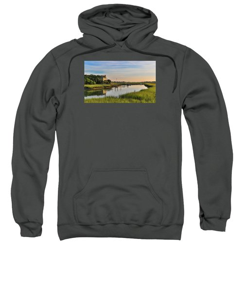 Morning On The Creek - Wild Dunes Sweatshirt