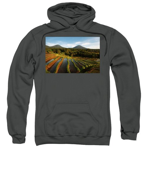 Morning On The Terrace Sweatshirt