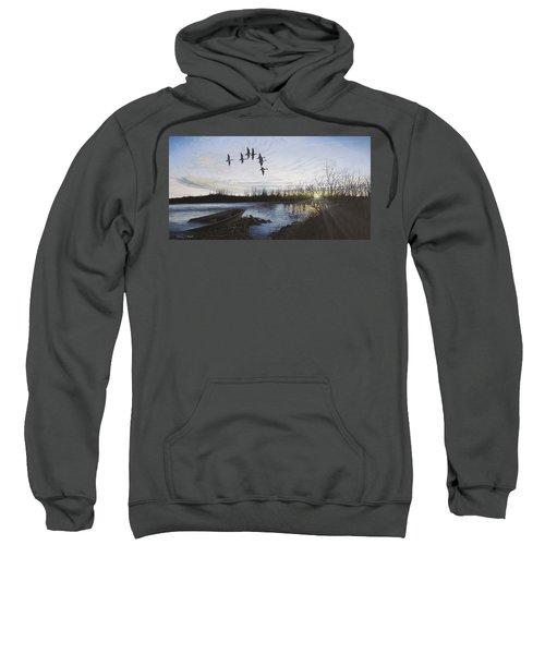 Morning Retreat - Pintails Sweatshirt