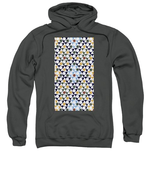 Mosaic From The Portico Of The Generalife Sweatshirt