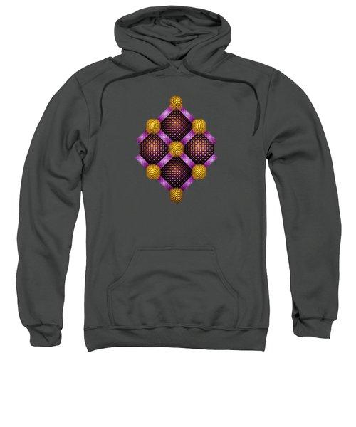 Mosaic - Purple And Yellow Sweatshirt