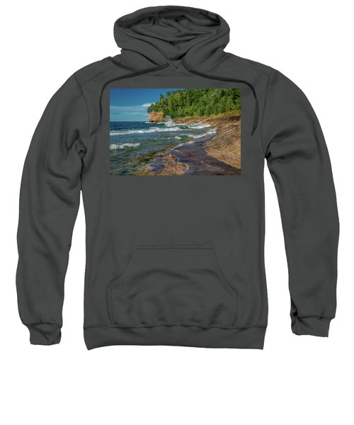 Mosquito Harbor Waves  Sweatshirt