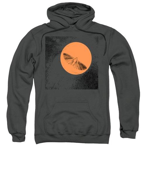 Moth In Orange Sweatshirt by Sverre Andreas Fekjan