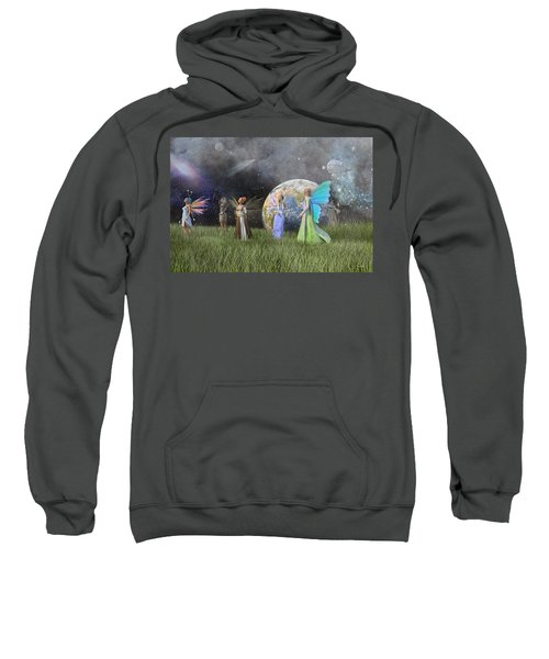 Mother Earth Series Plate1 Sweatshirt