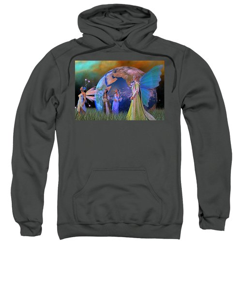 Mother Earth Series Plate5 Sweatshirt