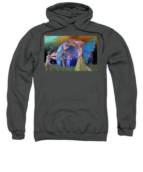 Mother Earth Series Plate5 Sweatshirt