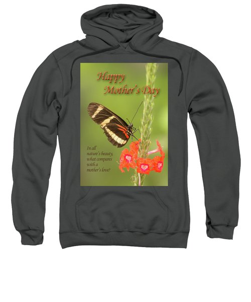 Mother's Day-butterfly Sweatshirt