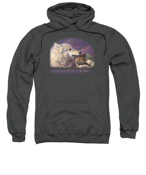 Mother's Love Sweatshirt by Lucie Bilodeau