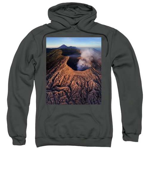 Mount Bromo At Sunrise Sweatshirt