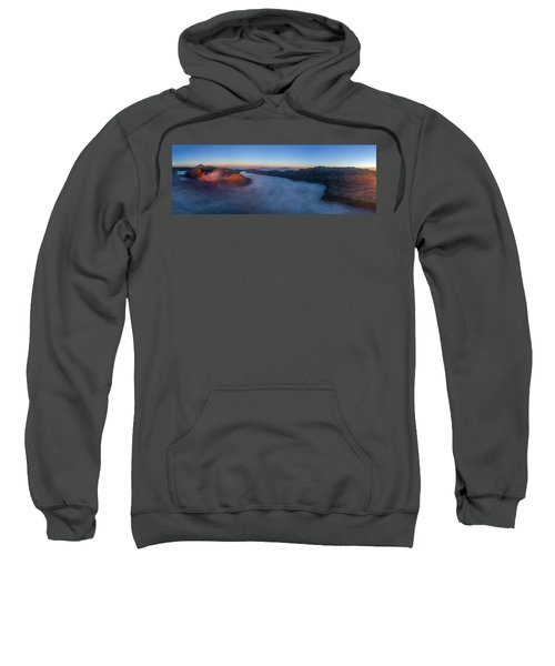 Mount Bromo Scenic View Sweatshirt