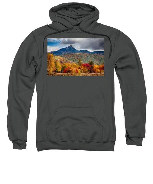 Peak Fall Colors On Mount Chocorua Sweatshirt