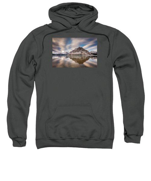 Mount Crowfoot Reflection Sweatshirt