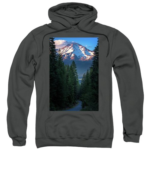 Mount Shasta - A Roadside View Sweatshirt