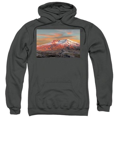 Mount St Helens Sunset Washington State Sweatshirt