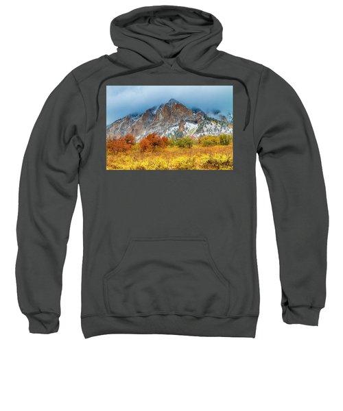 Mountain Autumn Color Sweatshirt