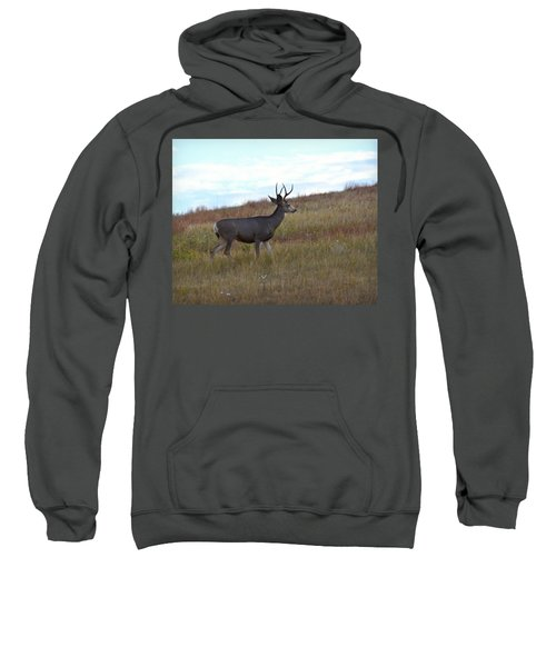 Mountain Climbing Deer Sweatshirt