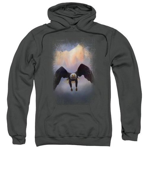 Mountain Flight Sweatshirt by Jai Johnson