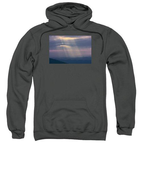 Mountain God Rays Sweatshirt