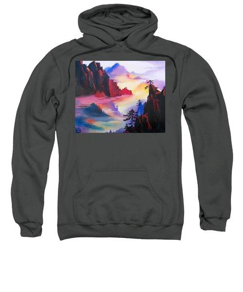 Mountain Top Sunrise Sweatshirt