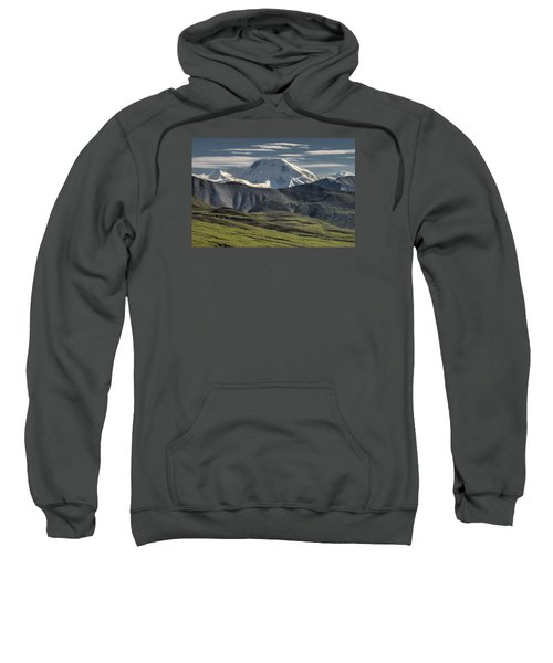 Sweatshirt featuring the photograph Mt. Mather by Gary Lengyel