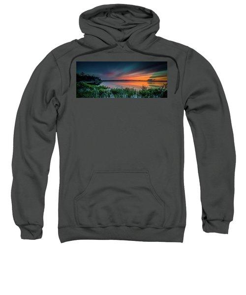 Mud Bay Sunset 4 Sweatshirt