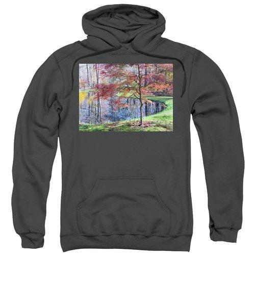 Multi Color Japanese Maple Sweatshirt