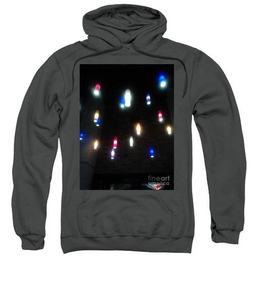 Multi Colored Lights Sweatshirt
