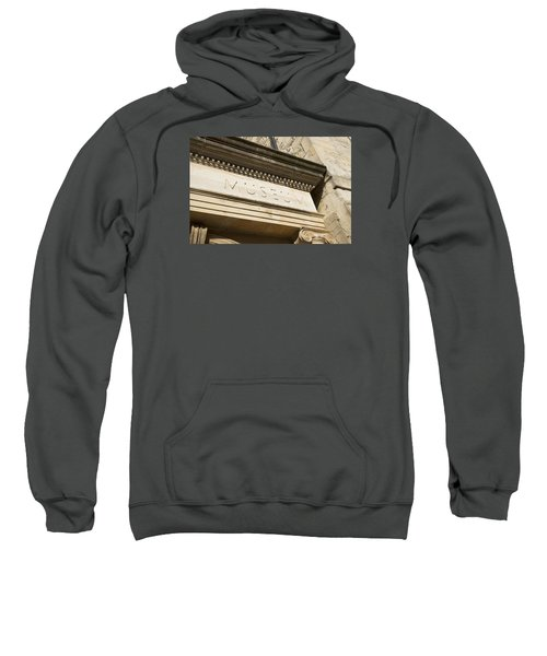 Museum Sign Sweatshirt