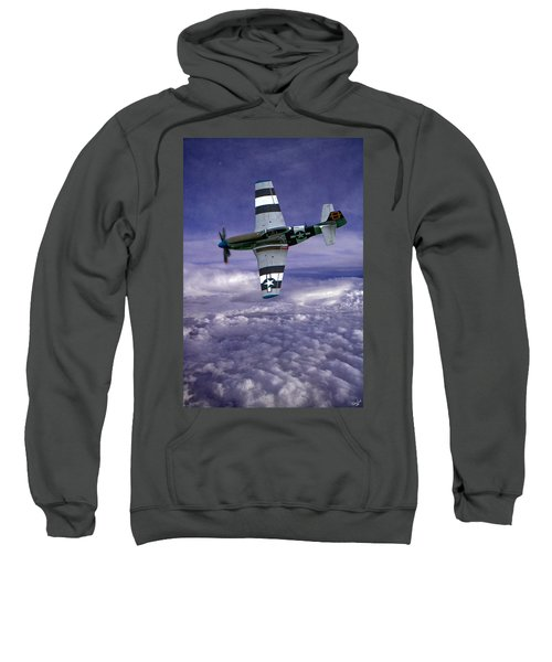 Mustang On Patrol Sweatshirt
