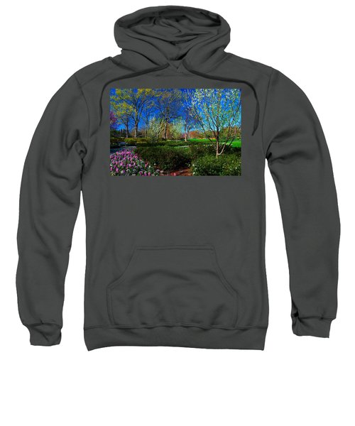 My Garden In Spring Sweatshirt