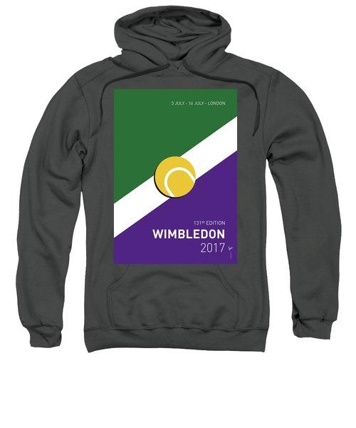 My Grand Slam 03 Wimbeldon Open 2017 Minimal Poster Sweatshirt