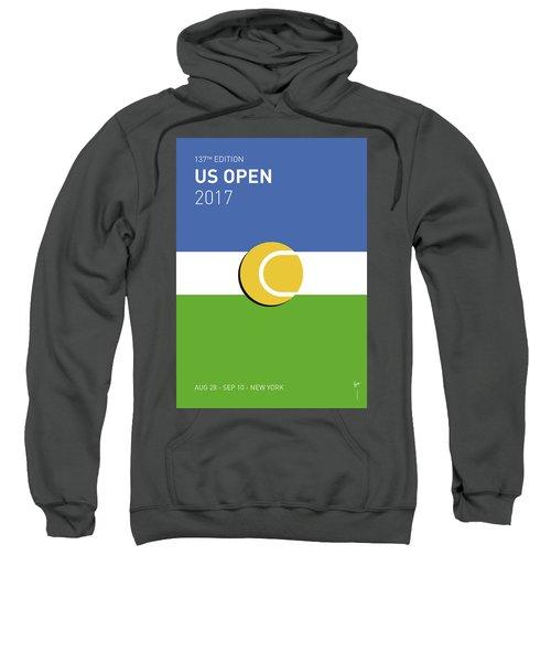 My Grand Slam 04 Us Open 2017 Minimal Poster Sweatshirt