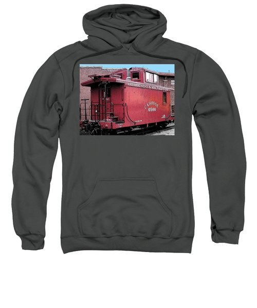 My Little Red Caboose Sweatshirt